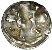 1 denar Louis II – revers