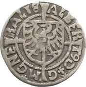 1 Groschen - Albrecht von Hohenzollern (Königsberg) – avers