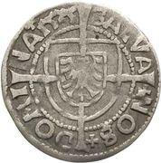 1 Groschen - Albrecht von Hohenzollern (Königsberg) – revers