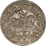 Thaler Teutonic Order 1603 Grandmaster Maximilian of Austria – revers