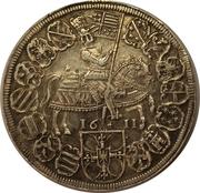 1 thaler Maximilien d'Autriche – revers