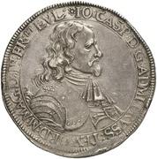2 Thaler - Johann Caspar von Ampringen – avers