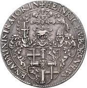 1 Thaler - Heinrich von Bobenhausen – avers
