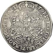 1 Thaler - Maximilian I. -  revers