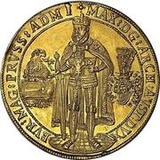 10 Ducat - Maximilian I. – avers