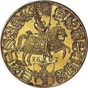 10 Ducat - Maximilian I. -  revers