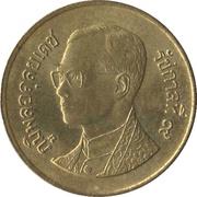 50 satang - Rama IX (3° effigie) -  avers