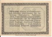 50 Heller (Thalgau) -  revers