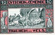 10 Heller (Thalheim bei Wels) -  avers