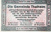 10 Heller (Thalheim bei Wels) -  revers