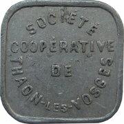 5 centimes Société Coopérative de Thaon [88] -  avers
