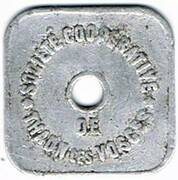 10 centimes Société Coopérative - Thaon (88) – avers