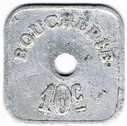 10 centimes Société Coopérative - Thaon (88) – revers