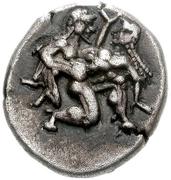Drachm (Thasos) – avers