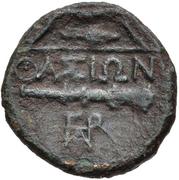 Bronze Æ17 (Thasos) – revers