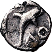 Hemiobol (Thasos) – revers