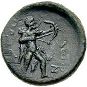 Bronze Æ20 (Thasos) – revers