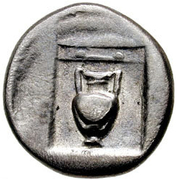 Drachm - Thebes – revers