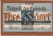 50 Pfennig (Thesdorf ) – avers