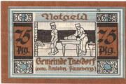 75 Pfennig (Thesdorf ) – revers