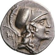 Drachm - Alketas, Sosipatros and Xe[...] – avers