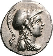 Drachm - Kraterophron and Amynandros – avers