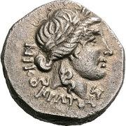 Drachm - Nikokrates, Philoxenides and Petraios – avers