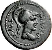 Obol - Philokrates, Italos and Petraios – avers