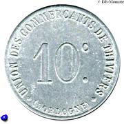 10 Centimes Union des Commerçants de Thiviers [24] – avers