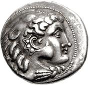 Tetradrachm (Imitation of Tetradrachm of Philip III of Macedon) – avers