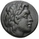 Bronze Æ27 (Thronion) – avers