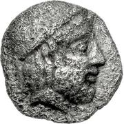Obol (Thronion) – avers