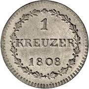 1 kreuzer – revers