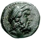 Bronze Æ21 (Thouria) – avers