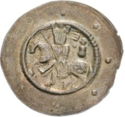 1 Brakteat - Heinrich II. – avers