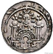 1 pfennig Heinrich Raspe II – avers
