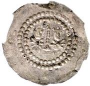 1 Brakteat - Heinrich II. – revers