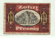 10 Pfennig (Allstedt, Stadt) – revers