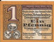 1 Pfennig (Triebes, Hohenleuben, Langenwetzendorf) – avers