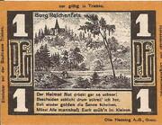 1 Pfennig (Triebes, Hohenleuben, Langenwetzendorf) – revers