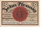 10 Pfennig (Ronneburg) – avers