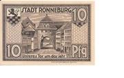 10 Pfennig (Ronneburg) – revers