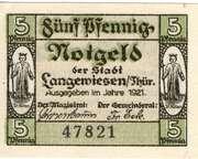 5 PPennig (Langewiesen) – avers
