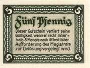 5 PPennig (Langewiesen) – revers