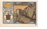 10 Pfennig (Pössneck) – revers