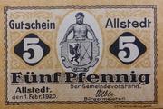 5 Pfennig (Allstedt) – avers
