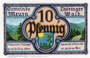 10 Pfennig (Meura) – avers