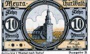 10 Pfennig (Meura) – revers