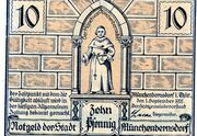 10 Pfennig (Münchenbernsdorf) – avers