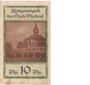 10 Pfennig (Ohrdruf) – avers